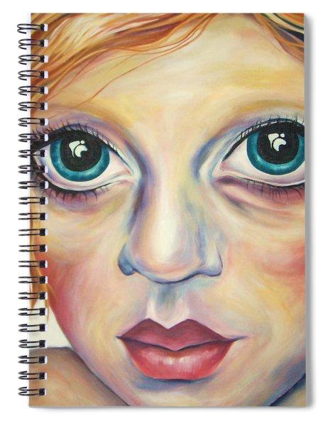 A Harmonious Replication Spiral Notebook