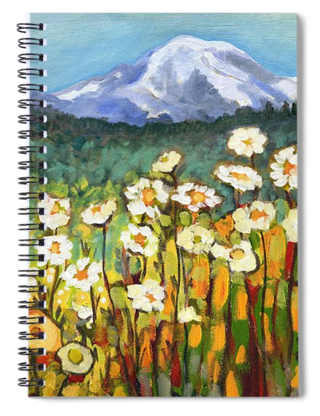 A Mountain View Spiral Notebook