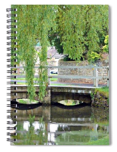 A Shady Brook Spiral Notebook