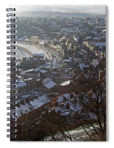 A Winter's Day At Scarborough Spiral Notebook