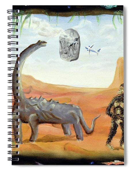 Abiogenesis Spiral Notebook