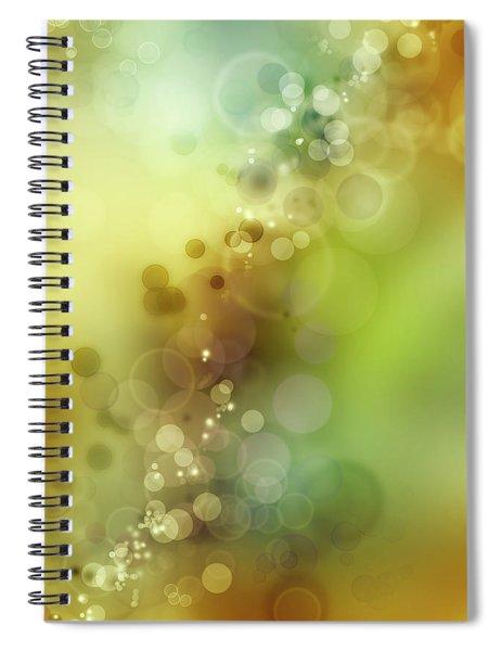 Abstract Blurs 17 Spiral Notebook
