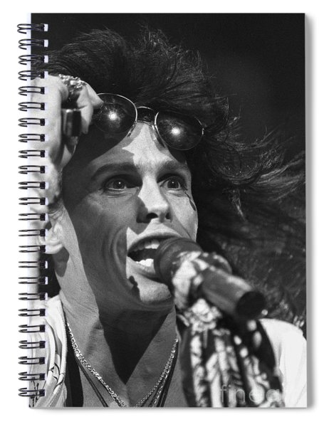 Aerosmith Steven Tyler Spiral Notebook