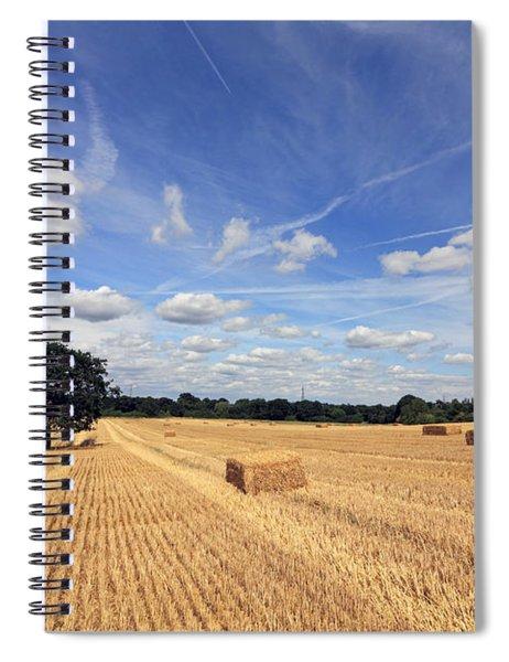 After The Harvest Uk Spiral Notebook
