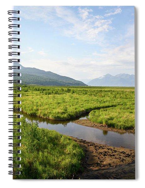 Alaskan Valley Spiral Notebook