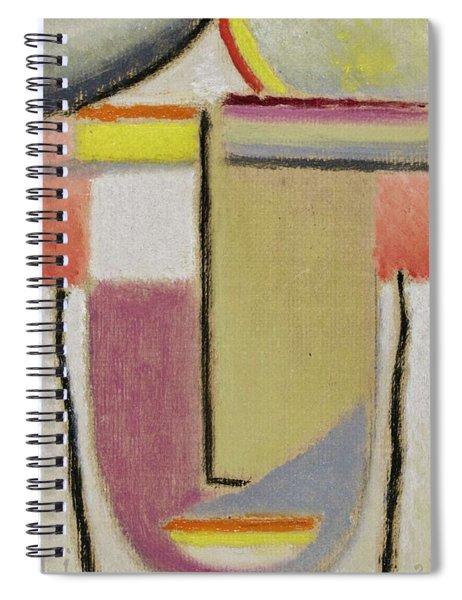 Alexej Von Jawlensky 1864 1941  Small Abstract Head Spiral Notebook