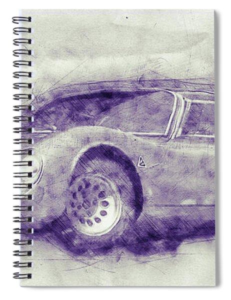 Alfa Romeo 33 Stradale 1 - 1967 - Automotive Art - Car Posters Spiral Notebook