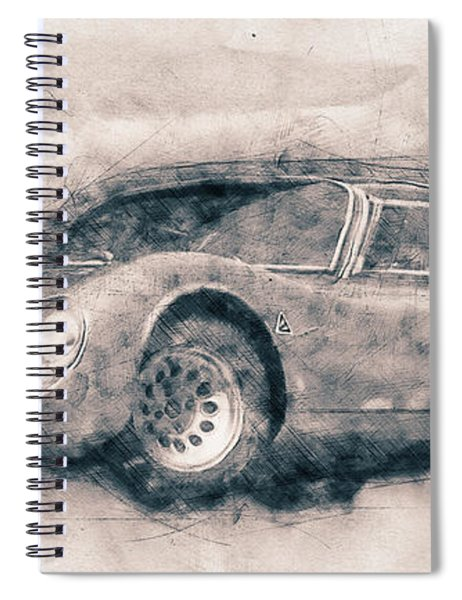 Alfa Romeo 33 Stradale - 1967 - Automotive Art - Car Posters Spiral Notebook