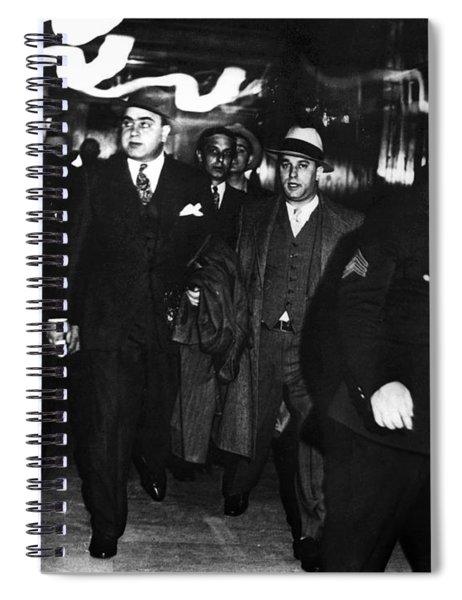Alphonse Capone (1899-1947) Spiral Notebook