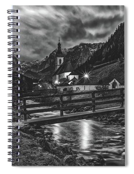 Alpine Sunset Beauty Spiral Notebook