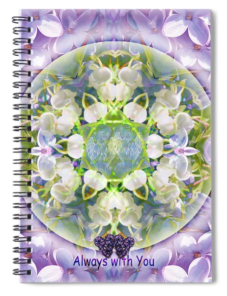 Always With You-2 Spiral Notebook