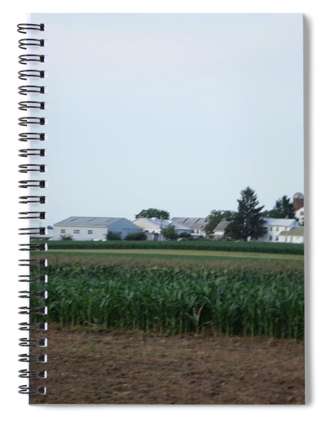 Amish Homestead 9 Spiral Notebook