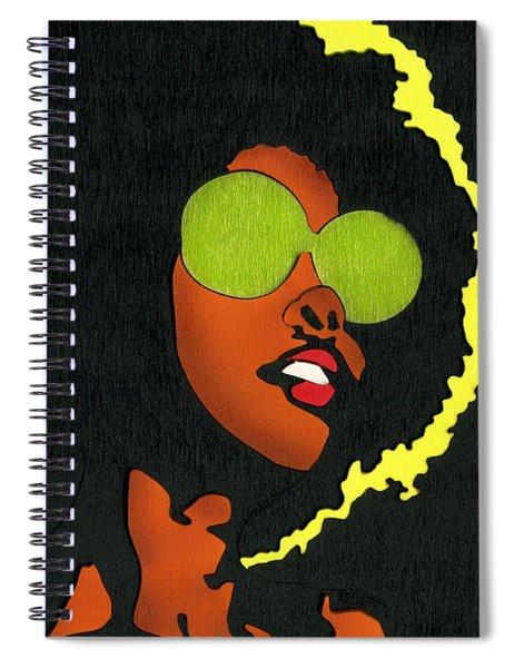 Angela Sings Spiral Notebook