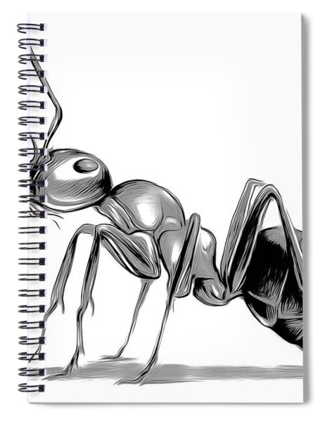 Ant Spiral Notebook