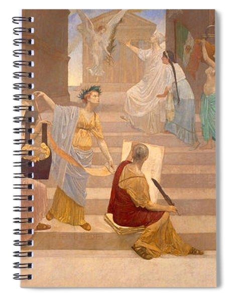 Apotheosis Of Peace Spiral Notebook