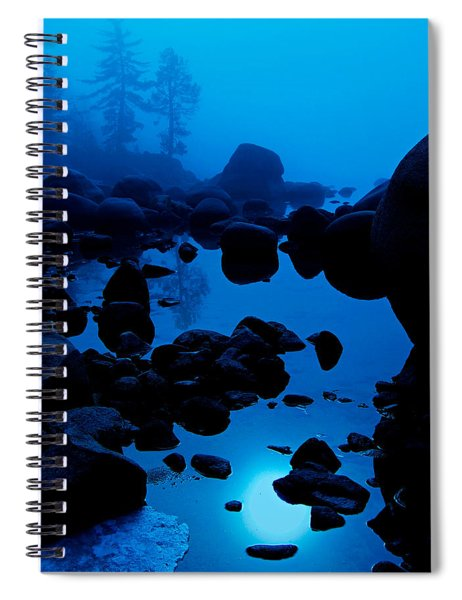 Arise From The Fog Spiral Notebook