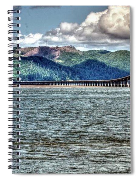 Astoria Bridge Spiral Notebook