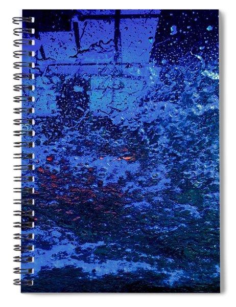 At The Carwash 12 Spiral Notebook