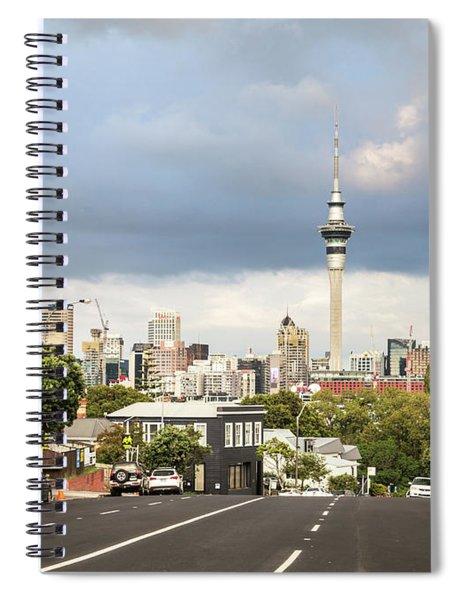 Auckland Skyline Spiral Notebook