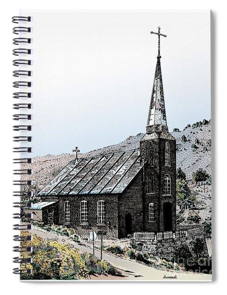 Austin Church Colored Spiral Notebook