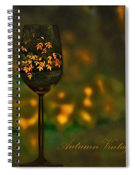 Autumn Vintage Spiral Notebook