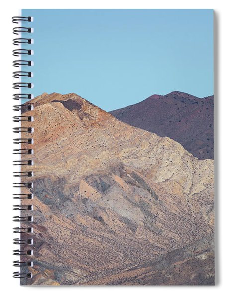 Spiral Notebook featuring the photograph Avawatz Mountain by Jim Thompson