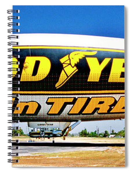 My Goodyear Blimp Ride Spiral Notebook