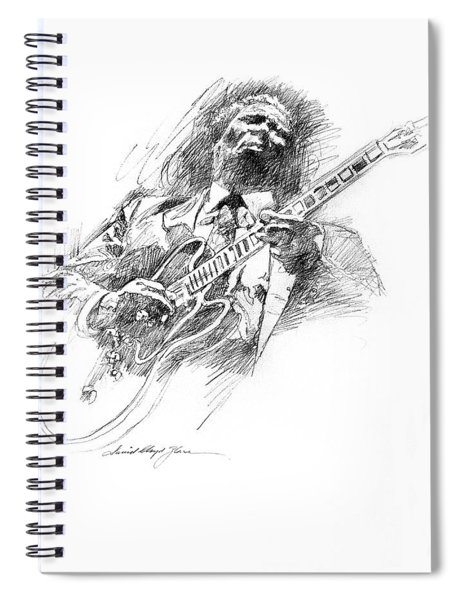 B B King And Lucille Spiral Notebook