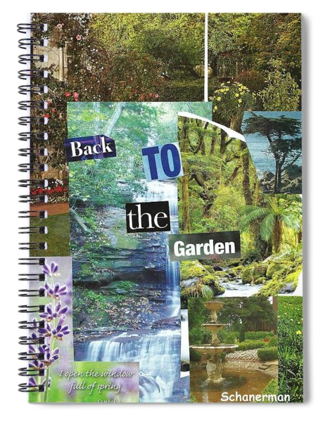 Back To The Garden Spiral Notebook