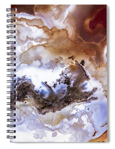 Backlit Agate Spiral Notebook