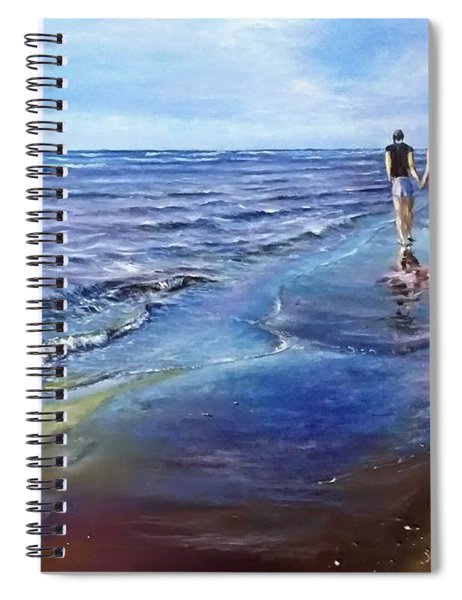 Baltic Beach  Spiral Notebook