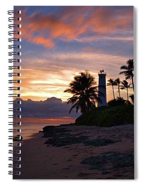 Barbers Point Lighthouse Spiral Notebook
