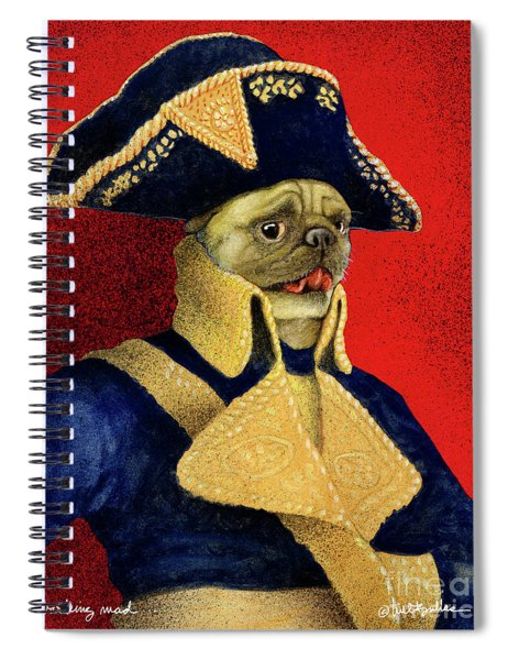 Barking Mad... Spiral Notebook