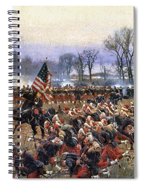 Battle Of Fredericksburg - To License For Professional Use Visit Granger.com Spiral Notebook