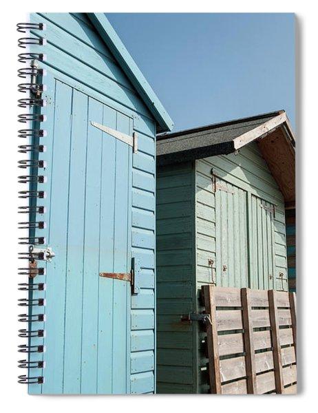 Beach Huts Vi Spiral Notebook
