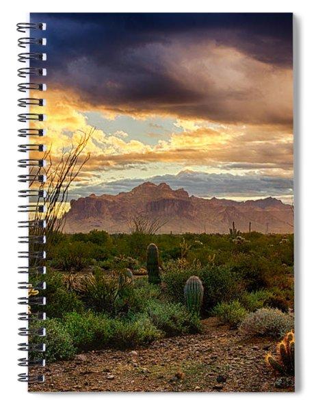 Beauty In The Desert Spiral Notebook
