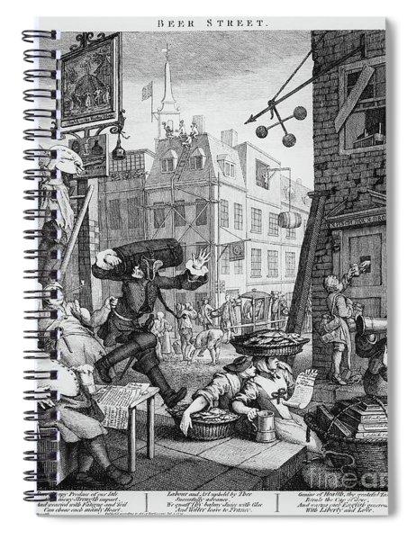 Beer Street Spiral Notebook