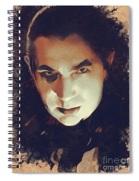 Bela Lugosi, Hollywood Legend Spiral Notebook