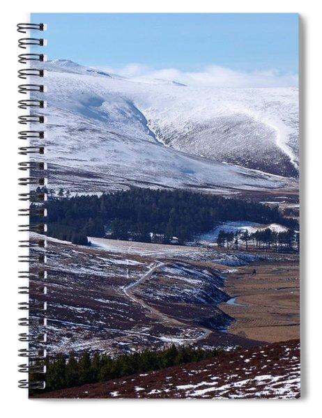 Ben Avon From Upper Donside Spiral Notebook