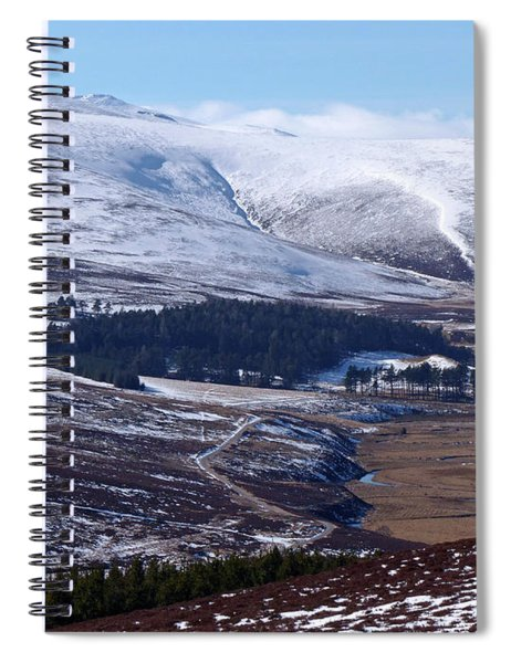Ben Avon From Upper Donside Spiral Notebook