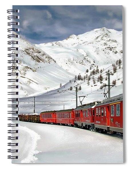 Bernina Winter Express Spiral Notebook
