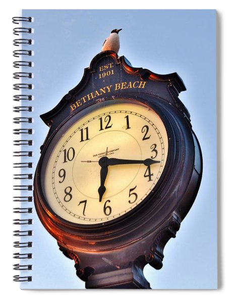 Bethany Beach Clock Tower Spiral Notebook