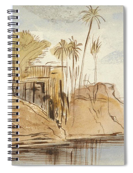 Between Ibreem And Wady Halfeh Spiral Notebook