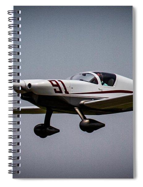 Big Muddy Air Race Number 91 Spiral Notebook