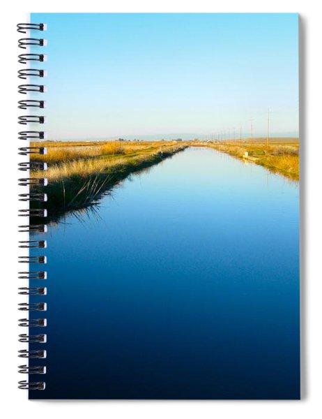 Biggs Canal Spiral Notebook