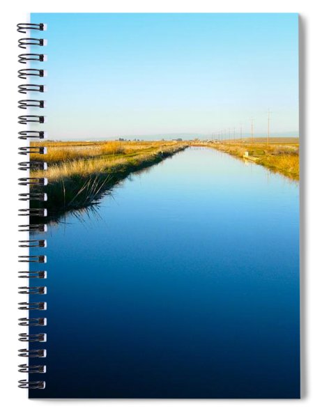 Biggs Canal Spiral Notebook