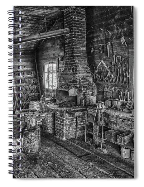 Black Smith Spiral Notebook