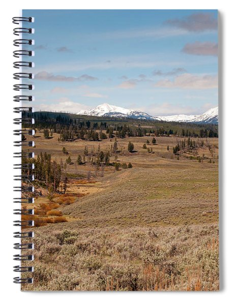 Blacktail Plateau Spiral Notebook