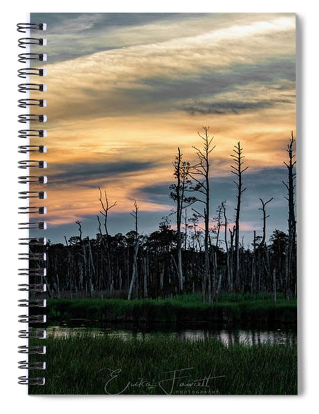 Blackwater Sunset Spiral Notebook