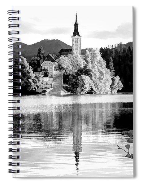 Bled Waking Up - Bled, Slovenia Spiral Notebook
